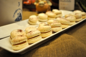 PB&J Macaroons from Justin Brunson and team. Photo by Sandra Morriss.